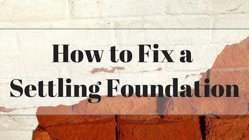 fix-settling-foundation