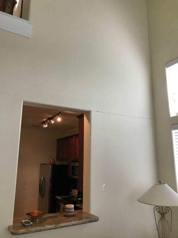 Cracks in Apartment building