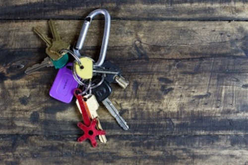 rental-property-key-chain