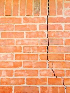 wall cracks foundation repair