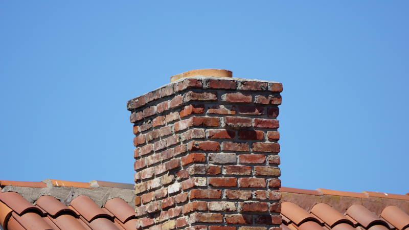 chimney leaning causes