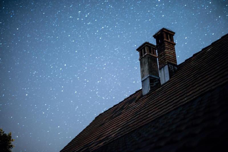 signs of tilting chimney