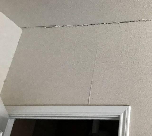 drywall cracks foundation repair