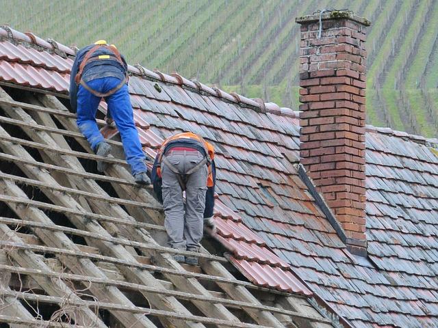 chimney tilt or cracks