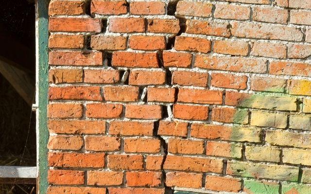 buckling walls need immediate repair
